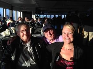 With Bob Luke and Bill Baker