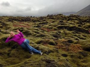 Molly on Green Lava